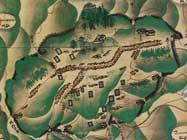 絵図に描かれた石見銀山