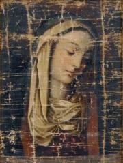 悲しみのマリア画像(南蛮文化館蔵)