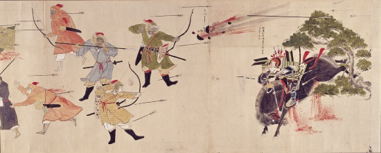 蒙古襲来絵詞(宮崎県立総合博物館蔵)