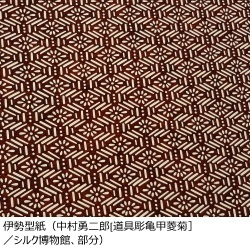 伊勢型紙イメージ