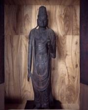 木造聖観音菩薩立像(県指定有形文化財)