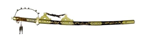 第一太刀(鳥取県指定文化財/鳥取東照宮所蔵 写真提供:鳥取県立博物館)
